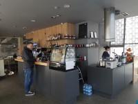 "Interior Design - Cafe at the Car Wash ""Auto Port"""