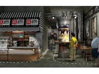 "Interior design - cafe ""Cinema"""