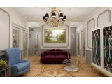 """Interior design - Apartment """"Ambitions"""", Moscow"""