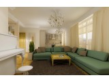 "Interior design - Apartment ""Marta"", Jurmala (1st option)"