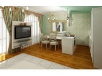 """Interior design - Apartment """"Summer"""" (option 2)"""