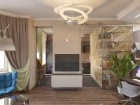 "Interior design - Apartment ""Transformer"" on Kutuzovsky, Moscow"