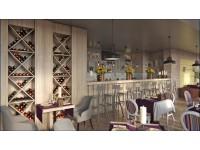 """Interior Design - Restaurant """"Welton"""" (1st option)"""