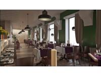 """Interior Design - Restaurant """"Welton"""" (2nd option)"""