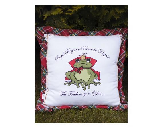 """Pillow """"Frog"""""""