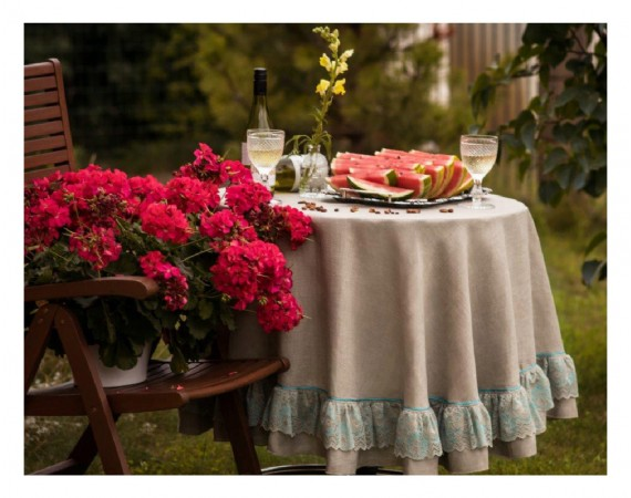 """Tablecloth """"Forget-me-not"""""""